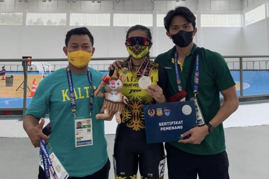 Kaltim raih medali pertama dari sepatu roda ITT putri