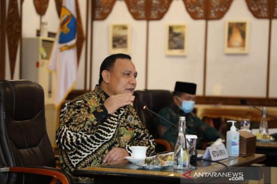 Ketua KPK ingatkan kepala daerah di Jambi tidak korupsi