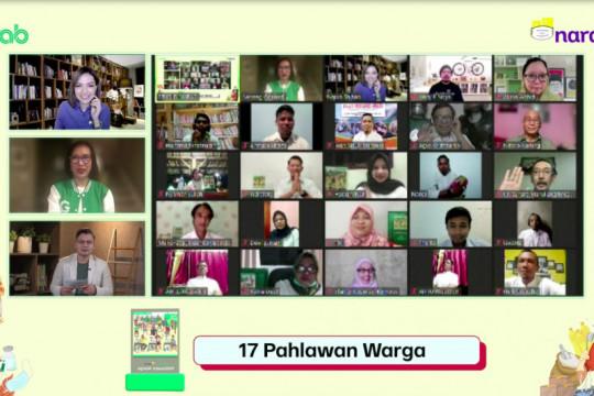 Grab umumkan 17 Pahlawan Warga pilihan warganet