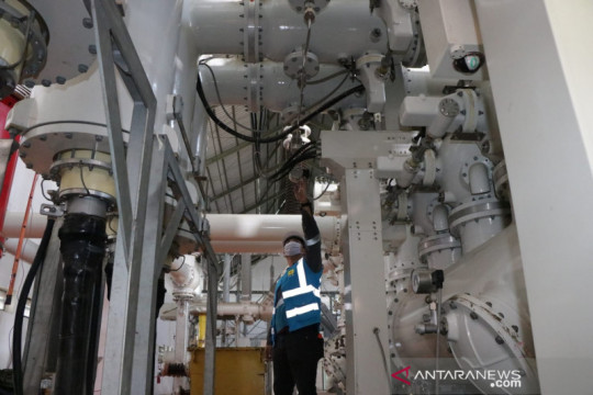 Dua proyek listrik tegangan tinggi kereta cepat rampung