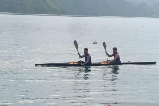 Dayung Papua Barat turun pertama di tiga nomor PON XX