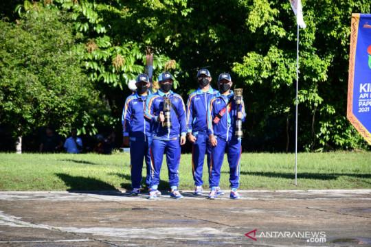 Bupati Sorong lepas peserta kirab api PON XX Papua