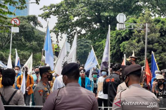 Polretro Jakarta Selatan siapkan tes antigen bagi demonstran di KPK