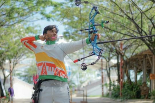 Atlet panahan Kalbar latihan pemantapan skill di Jayapura