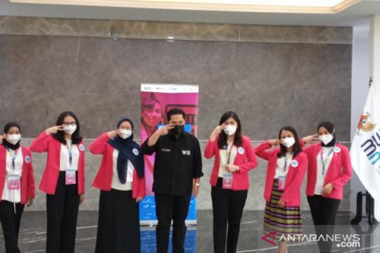 Erick Thohir berharap enam peserta #GirlsTakeover masuk beasiswa BUMN