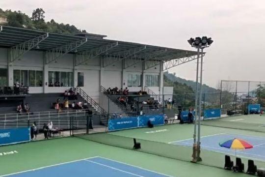 Tim tenis Papua ungguli Sumatera Selatan