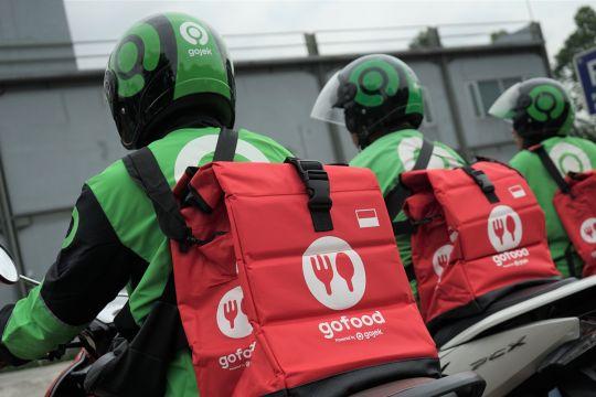 GoFood bagi-bagi ribuan tas khusus pengantaran makanan untuk driver