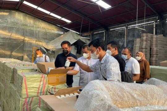 Polri ungkap pabrik pembuat dan pengedar obat ilegal di Yogyakarta