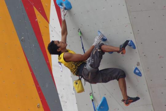 Tiga atlet panjat tebing Sumbar lolos babak kualifikasi