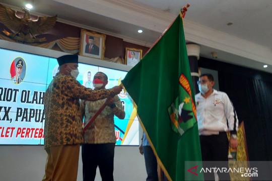 Gubernur Sumbar resmi lepas kontingen Sumbar ke PON Papua XX 2021