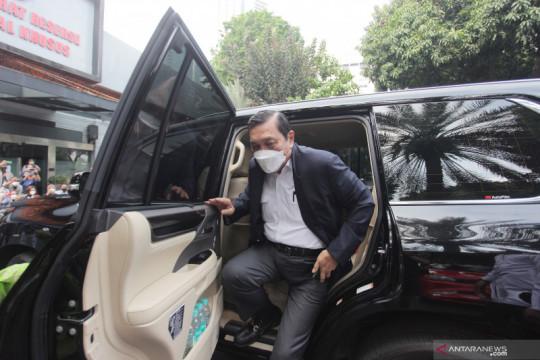 Luhut Pandjaitan klarifikasi laporan ke Polda Metro