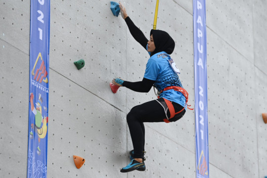Yenny Wahid: Aries Susanti-Muji Mulyani tunjukkan olahraga itu dinamis