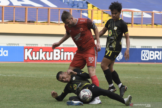 Barito Putera raih kemenangan perdana usai kalahkan PSM Makassar