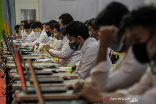 Tes seleksi CPNS di Bandung
