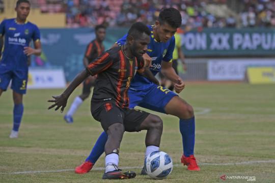 Lumat Jabar 5-1, kapten sepak bola putra Papua merasa belum 100 persen