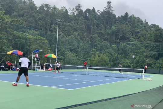Tim tenis Jawa Timur dominasi nomor beregu PON Papua