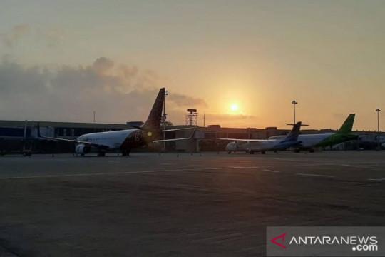 Maskapai pastikan pesawat yang mendarat darurat di Palembang aman
