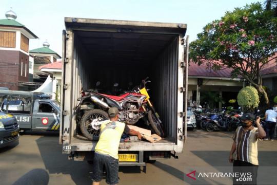 Polisi sita 25 sepeda motor curian di rumah kontrakan