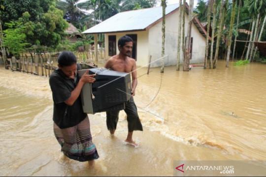 BMKG: Sembilan daerah di Aceh berpotensi hujan deras waspadai banjir