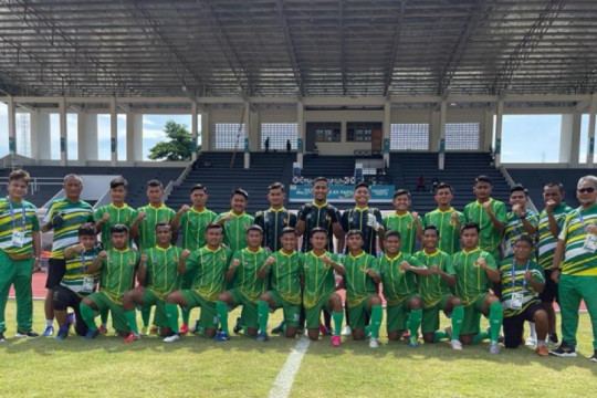 Tim sepak bola Sumut dan Jateng berbagi poin usai laga minim peluang