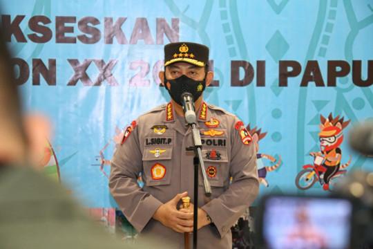 Kapolri memastikan kesiapan pengamanan PON XX Papua