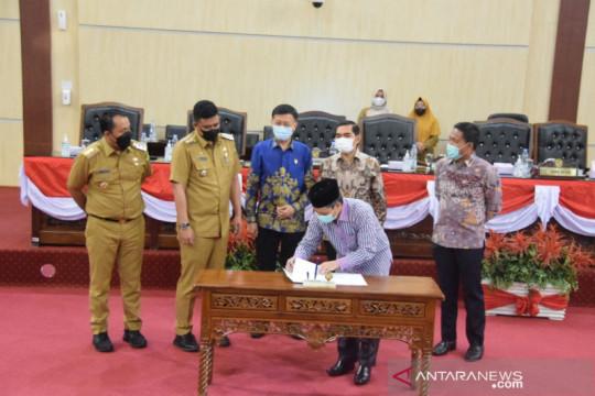 DPRD dan Pemkot Medan mengesahkan Perubahan APBD 2021 Rp5,2 triliun