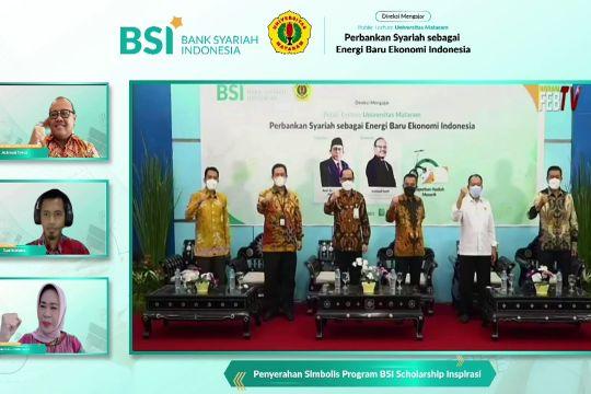 BSI gelar direksi mengajar dan beri beasiswa mahasiswa Unram
