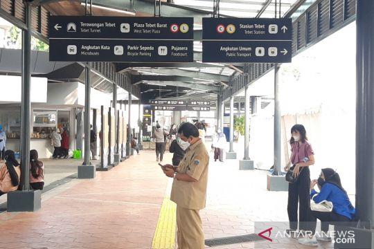 Warga apresiasi penataan Stasiun Integrasi Tebet