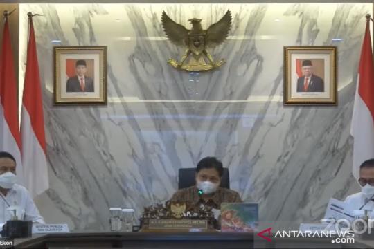 Menko Airlangga: Kompetisi Liga 2 luar Jawa diizinkan bergulir kembali