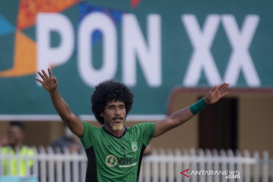 PON Papua : Tim sepak bola Maluku Utara kalahkan NTT