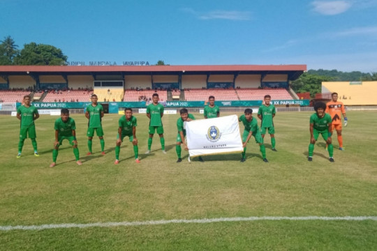 Tim sepak bola Malut ungguli NTT di laga perdana