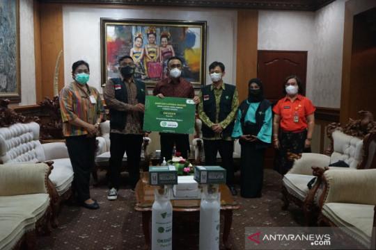 Pemkot Denpasar terima bantuan oksigen dan regulator