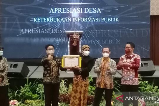Wapres apresiasi 10 desa dengan keterbukaan informasi publik terbaik