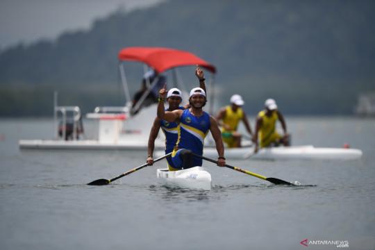 Jawa Barat rebut dua emas lewat cabang dayung PON Papua