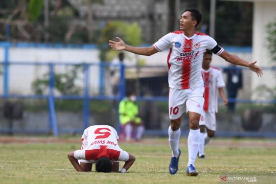 Pelatih sepak bola Sulawesi Utara syukuri kemenangan atas Aceh