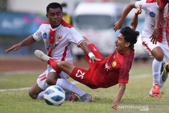 PON Papua: tim sepak bola putra Sulawesi Utara kalahkan Aceh 2-1