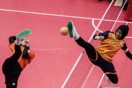 Hasil semifinal sepak takraw putri: Sulsel dan DKI raih kemenangan