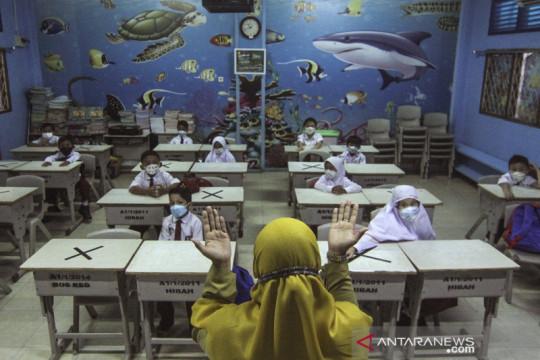 Pembelajaran Tatap Muka di sekolah Depok