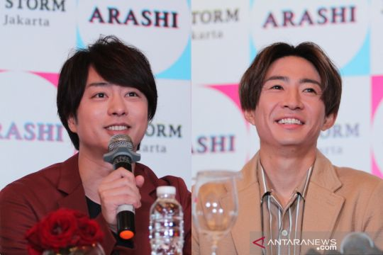 "Sakurai Sho dan Aiba Masaki ""Arashi"" umumkan pernikahan"