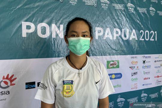 Priska Nugroho bersemangat tampil dalam debutnya di PON