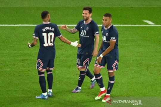Gol perdana Messi bantu PSG bungkam Manchester City 2-0