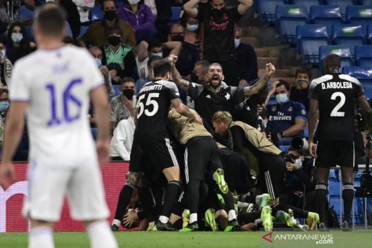 Sheriff permalukan Real Madrid di Santiago Bernabeu