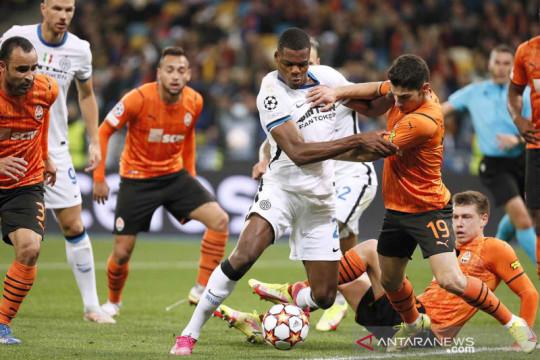Liga Champions : Shakhtar Donetsk vs Inter Milan