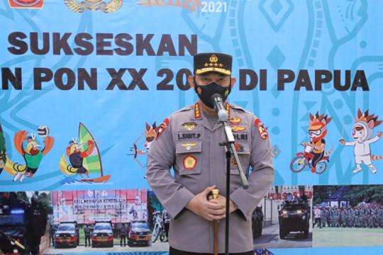 Kemarin, rekrut pegawai KPK jadi ASN Polri hingga pengamanan PON XX