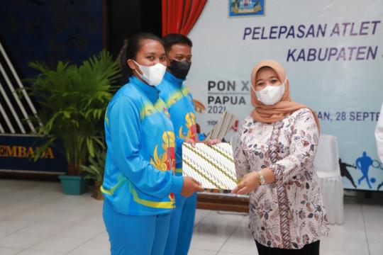Bupati minta atlet Sleman bikin grebrakan PON Papua