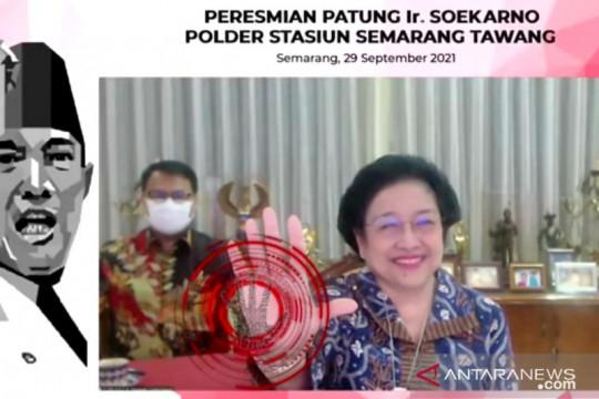 Megawati mengajak masyarakat ingat jasa pahlawan bangsa