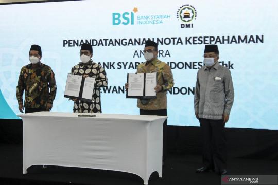 Kerjasama Bank Syariah Indonesia dengan DMI