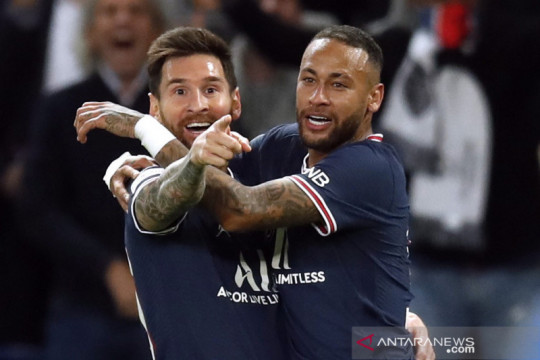 Liga Champions: Messi cetak gol perdana untuk menangkan PSG  atas Manchester City