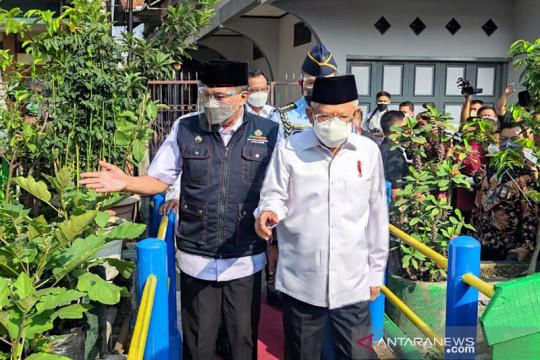 "Wapres apresiasi pembentukan ""urban farming"" Cicendo"