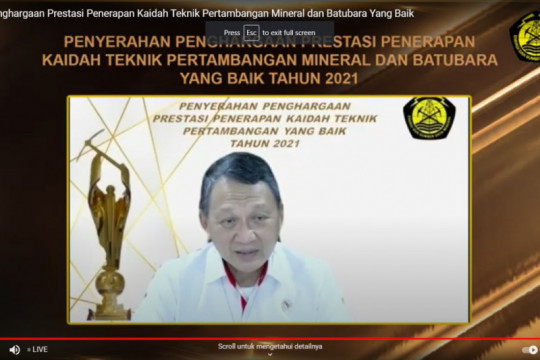 PT Semen Padang raih penghargaan pertambangan dari Kementerian ESDM